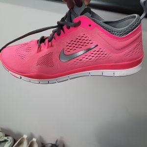 Pink Nike Runners